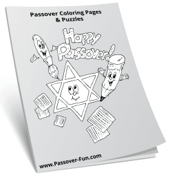 Passover Coloring Pages & Puzzles